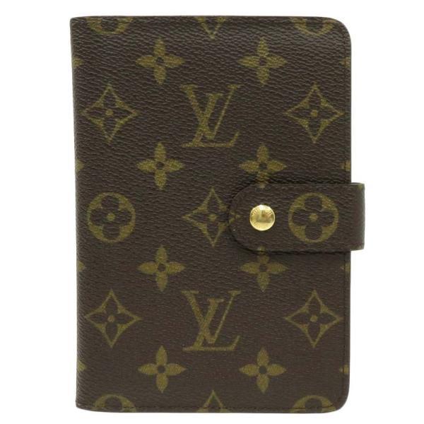 LOUIS VUITTON ルイヴィトン ポルト パピエ ジップ モノグラム 二つ折り財布 M61207|turuya783