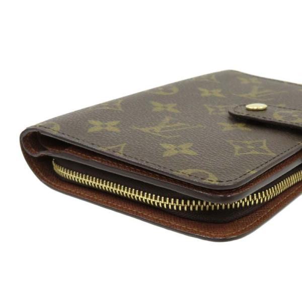 LOUIS VUITTON ルイヴィトン ポルト パピエ ジップ モノグラム 二つ折り財布 M61207|turuya783|04