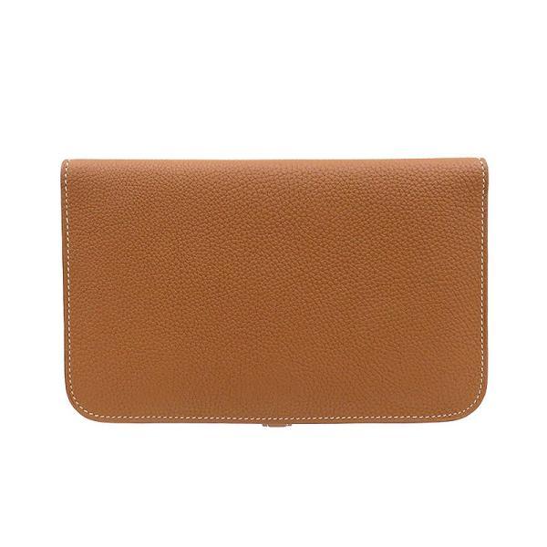 HERMES エルメス ドゴンGM 長財布 二つ折り財布 ブラウン ドゴンデュオ 未使用品|turuya783|02