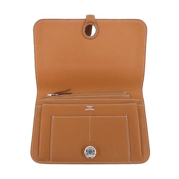 HERMES エルメス ドゴンGM 長財布 二つ折り財布 ブラウン ドゴンデュオ 未使用品|turuya783|03