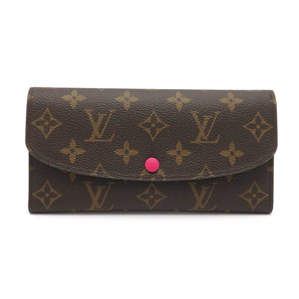ルイヴィトン ポルトフォイユ エミリー モノグラム 長財布 M41943 ピンク 未使用品|turuya783