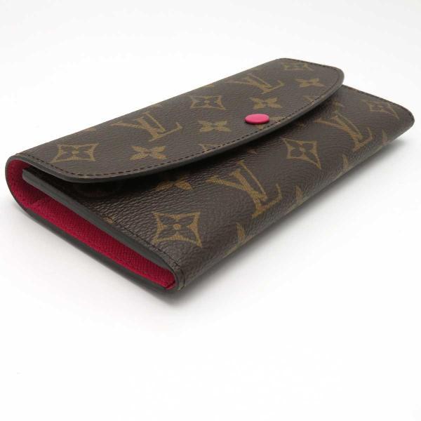 ルイヴィトン ポルトフォイユ エミリー モノグラム 長財布 M41943 ピンク 未使用品|turuya783|03