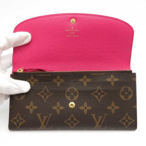 ルイヴィトン ポルトフォイユ エミリー モノグラム 長財布 M41943 ピンク 未使用品|turuya783|05