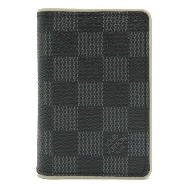 ルイヴィトン オーガナイザー ドゥ ポッシュ ダミエ・グラフィット カードケース N64431 名刺入れ 定期入れ パスケース 未使用品|turuya783