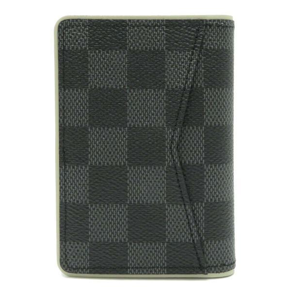 ルイヴィトン オーガナイザー ドゥ ポッシュ ダミエ・グラフィット カードケース N64431 名刺入れ 定期入れ パスケース 未使用品|turuya783|02