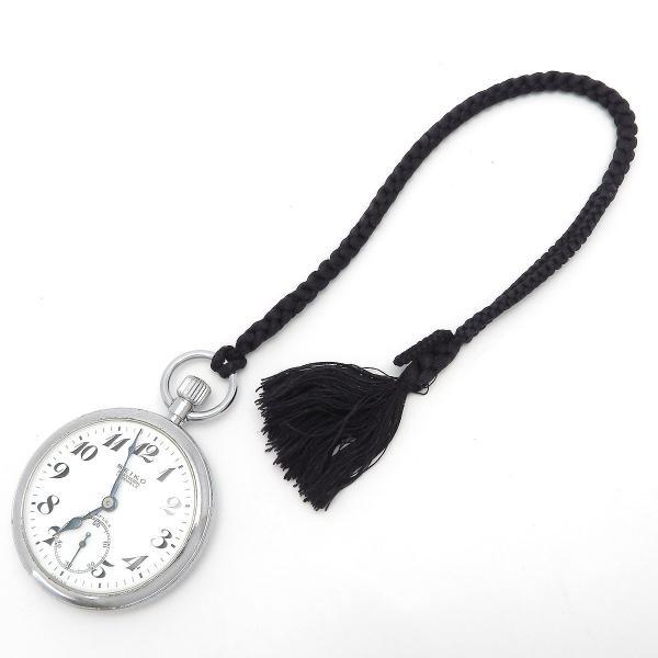 セイコー プレシジョン 鉄道時計 アンティーク ヴィンテージ メンズ 1963年製造 19セイコー 国鉄 ポケットウォッチ|turuya783|05