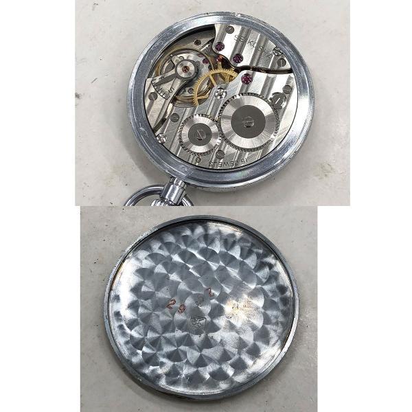 セイコー プレシジョン 鉄道時計 アンティーク ヴィンテージ メンズ 1963年製造 19セイコー 国鉄 ポケットウォッチ|turuya783|06