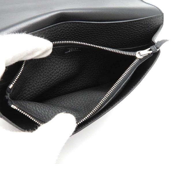 エルメス ドゴンGM 長財布 二つ折り財布 ノワール 美品|turuya783|06