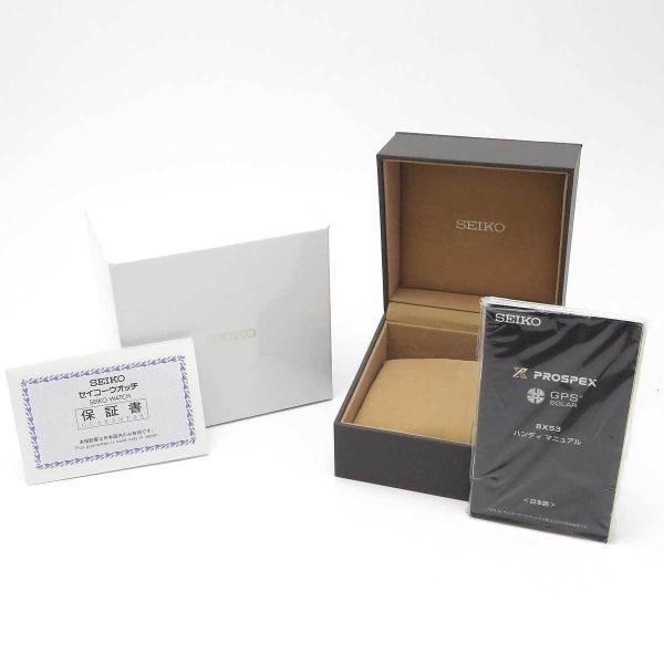 ポイントアップ! セイコー プロスペックス マリーンマスター オーシャンクルーザー 未使用品 メンズ 8X53-0AL0 箱ギャラ付 【時計】|turuya783|06