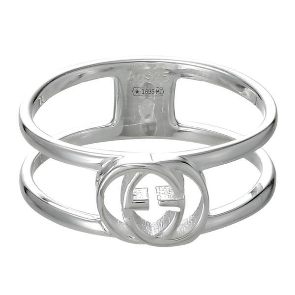b4b460f244de グッチ GUCCI リング 指輪 アクセサリー インターロッキング シルバー レディース メンズ 298036 J8400 8106|tutto-  ...