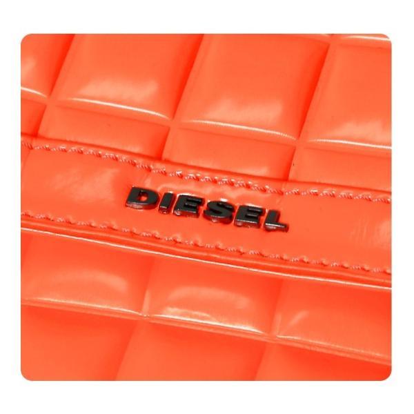 ディーゼル DIESEL ショルダーバッグ 鞄 レディース マット ネオンカラー チェーン クラッチバッグ TEKNO MATT/WAYNNE|tutto-tutto|05