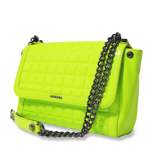 ディーゼル DIESEL ショルダーバッグ 鞄 レディース マット ネオンカラー チェーン クラッチバッグ TEKNO MATT/WAYNNE|tutto-tutto|02