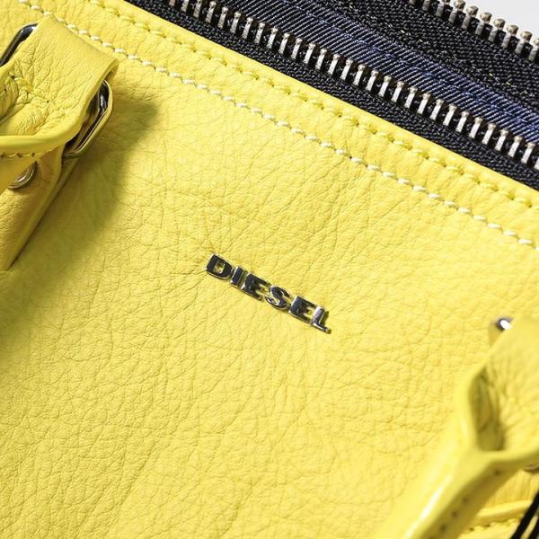 ディーゼル DIESEL ショルダーバッグ 鞄 レディース 牛革 本革 ジップアクセント 2way レザーバッグ ハンドバッグ LE-BRASY|tutto-tutto|06