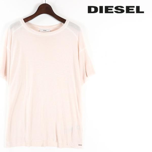 ディーゼル DIESEL Tシャツ カットソー レディース ヴィンテージ加工 レーヨン 半袖 T-NIDA|tutto-tutto
