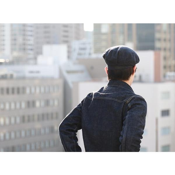 ディーゼルブラックゴールド DIESEL BLACK GOLD ベレー帽 帽子 メンズ ウール混 ストライプ CAPPRETY-WC|tutto-tutto|04