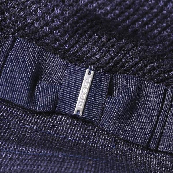 ディーゼル DIESEL バケットハット 帽子 メンズ レディース 男女兼用 ブリムリボン コットンニット CLAUDYANO|tutto-tutto|03