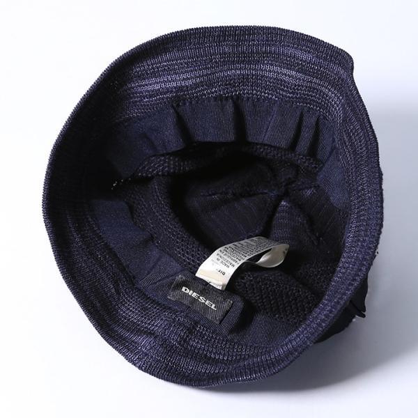 ディーゼル DIESEL バケットハット 帽子 メンズ レディース 男女兼用 ブリムリボン コットンニット CLAUDYANO|tutto-tutto|05