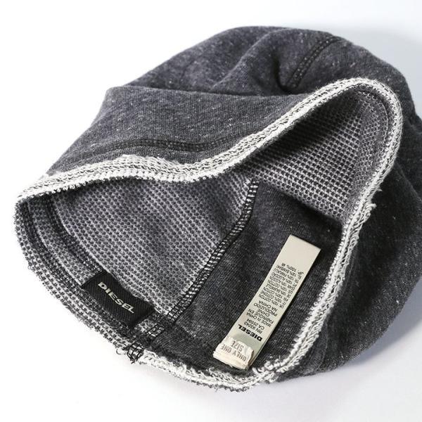 ディーゼル DIESEL ニットキャップ 帽子 メンズ カットオフ ビーニーキャップ コットンニット CENAMER tutto-tutto 08