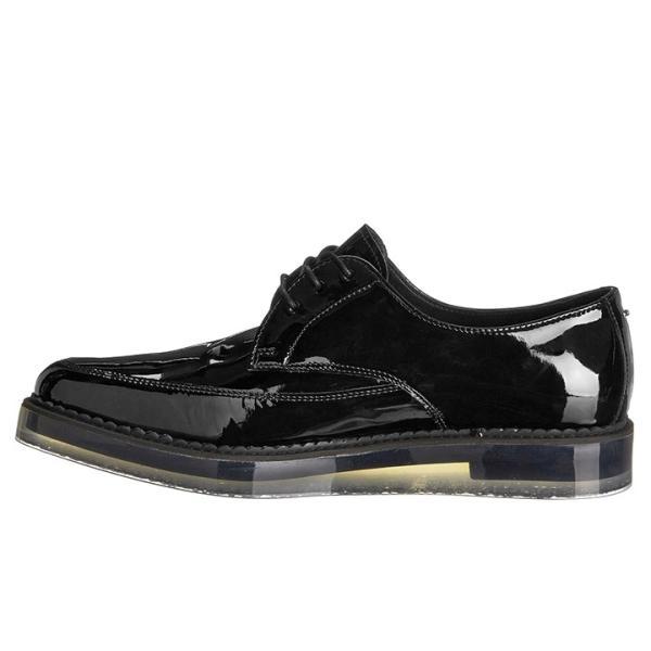 ディーゼル DIESEL ドレスシューズ 靴 メンズ 本革 レザー エナメル スケルトンラバーソール レースアップ オックスフォードシューズ KALLING|tutto-tutto|02