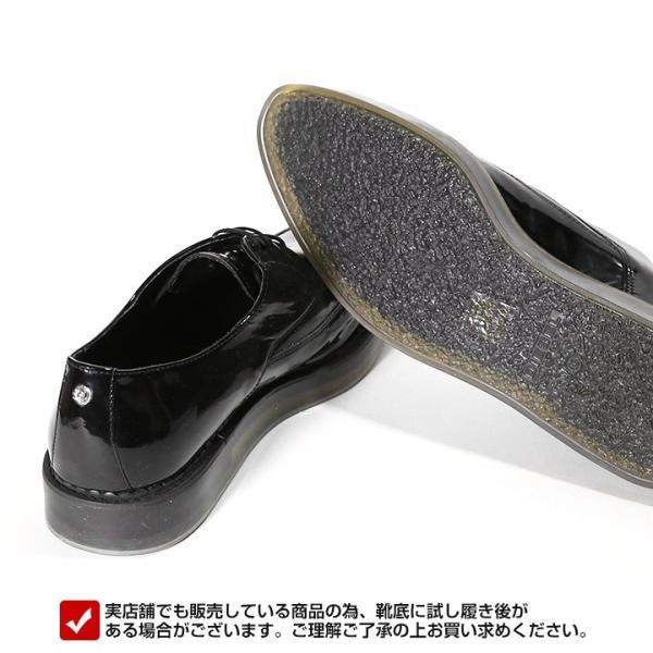 ディーゼル DIESEL ドレスシューズ 靴 メンズ 本革 レザー エナメル スケルトンラバーソール レースアップ オックスフォードシューズ KALLING|tutto-tutto|04