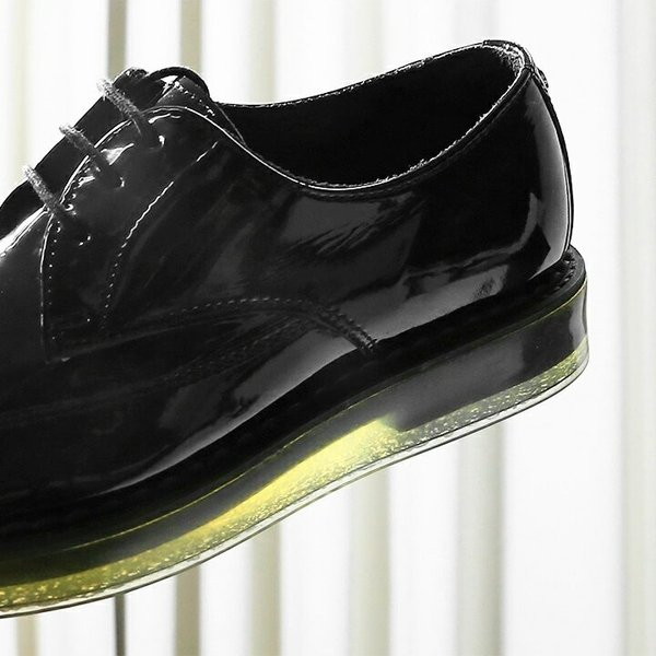 ディーゼル DIESEL ドレスシューズ 靴 メンズ 本革 レザー エナメル スケルトンラバーソール レースアップ オックスフォードシューズ KALLING|tutto-tutto|05