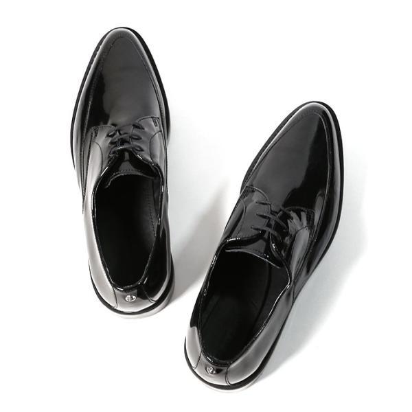 ディーゼル DIESEL ドレスシューズ 靴 メンズ 本革 レザー エナメル スケルトンラバーソール レースアップ オックスフォードシューズ KALLING|tutto-tutto|06
