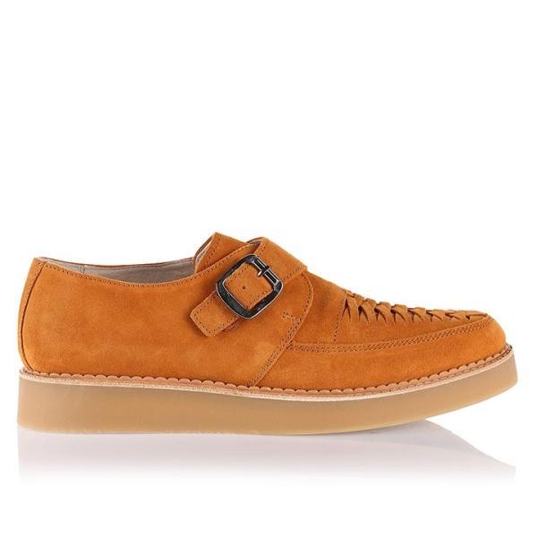 ディーゼル DIESEL モンクストラップシューズ 靴 メンズ 本革 スウェード 編み込み D-KHALLAT|tutto-tutto|06