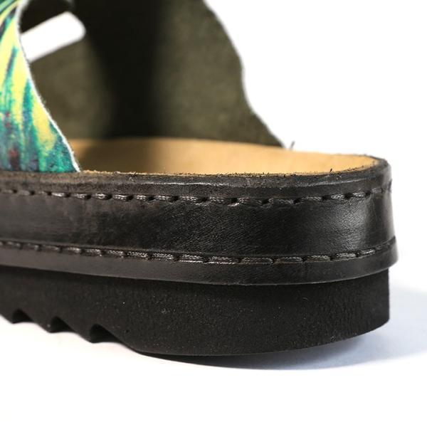ディーゼル DIESEL レザーサンダル 靴 メンズ 牛革 本革 総柄プリント コンフォートサンダル BIK-DOU tutto-tutto 05