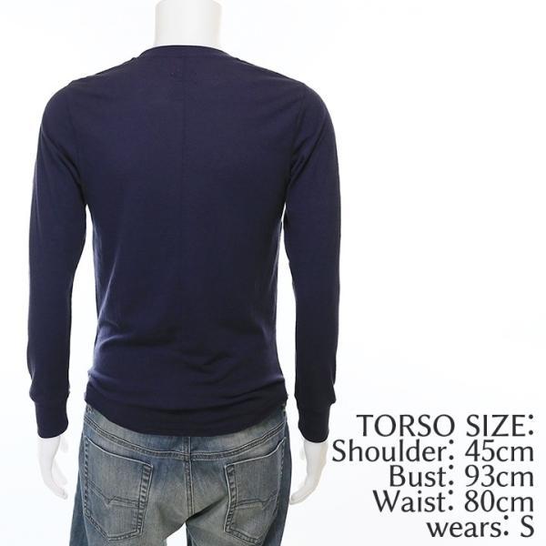 ディーゼル DIESEL Tシャツ カットソー メンズ シンプル 無地 薄手 ロンT 長袖 T-RAPID|tutto-tutto|03