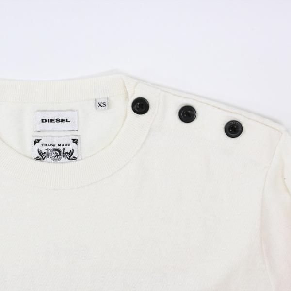 ディーゼル DIESEL カットソー メンズ ボーダー柄 ボタンショルダー ロンT 長袖Tシャツ T-VENERA tutto-tutto 05