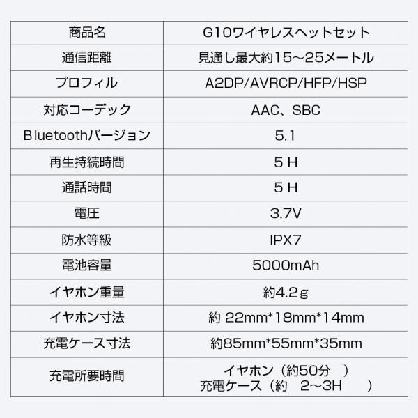 ワイヤレスイヤホン bluetooth5.0 ブルートゥースイヤホン カナル型5000mAh大容量 片耳両耳重低音LED残量表示 IPX7防水iPhone Android Siri対応|tutuyo|18