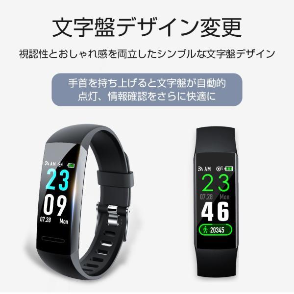itDEAL スマートウォッチ ブレスレット iphone Android line対応 心拍計血圧計 腕時計 着信通知 ipx67防水 Bluetooth GPS 歩数計測 スポーツ|tutuyo|04
