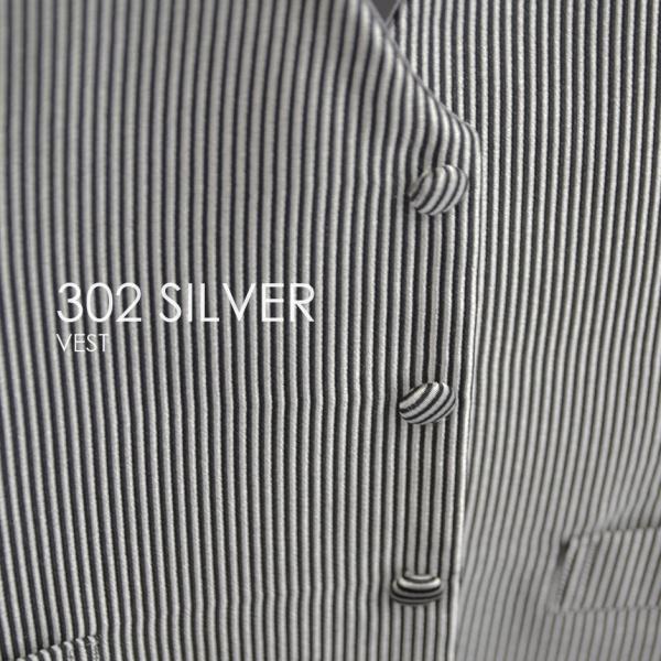 ベスト単品 302SVシルバー お洒落なタキシードの着こなし★レンタル4泊5日★|tuxedo|05