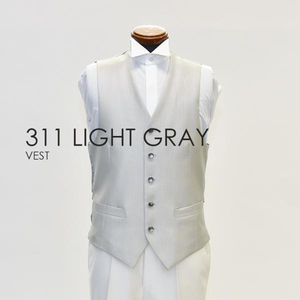 ベスト単品 311LGライトグレー お洒落なタキシードの着こなし★レンタル4泊5日★|tuxedo|03
