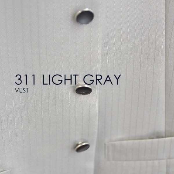 ベスト単品 311LGライトグレー お洒落なタキシードの着こなし★レンタル4泊5日★|tuxedo|05