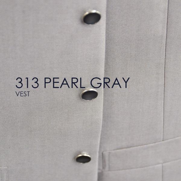 ベスト単品 313PGパールグレー お洒落なタキシードの着こなし★レンタル4泊5日★|tuxedo|05