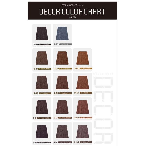 カラーコート デコレ イリヤ 160g 3本セット 全カラー27色 DECOR 送料無料 プロ用美容室専門店|tuyakami|03