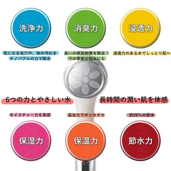 (送料無料)ドロップミストナノバブルシャワー ナノフェミラス(美容室シャワー マイクロバブル シャワーヘッド 赤ちゃん ピュアブル)|tuyakami|04