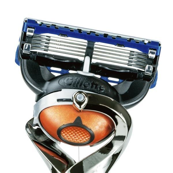 ジレット プログライド 髭剃り 本体+替刃9コ付|tweedia|03