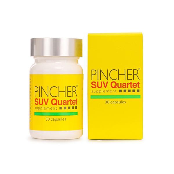ピンシャー  メラニン 紫外線対策 美白 UV対策 シミ ソバカス 日焼け止め  《送料無料》 PINCHER SUV Quartet Supplement|twentycompany