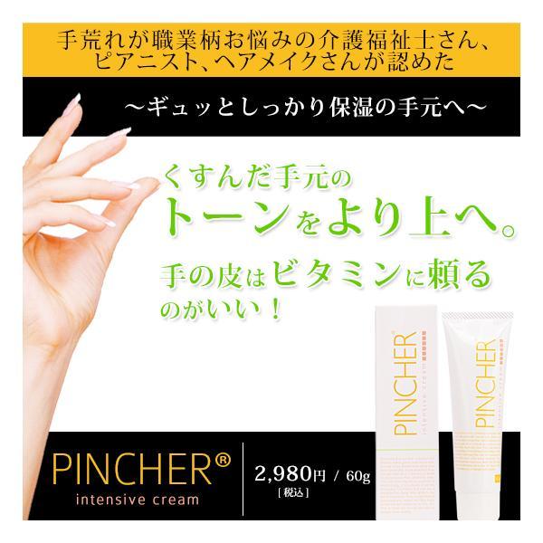 ピンシャー インテンシブクリーム フラーレン ハンドクリーム フットケア ハンドケア フラーレンパック PINCHER intensive cream 60ml|twentycompany|02