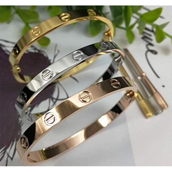 Byqone Love Bracelet, Screw Bracelet, 18k Titanium Steel Bracelet, Buc|twilight-shop