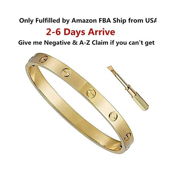 Byqone Love Bracelet, Screw Bracelet, 18k Titanium Steel Bracelet, Buc|twilight-shop|02