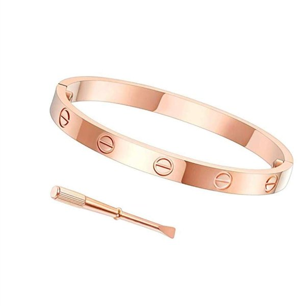 Byqone Love Bracelet, Screw Bracelet, 18k Titanium Steel Bracelet, Buc|twilight-shop|03