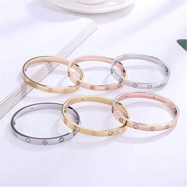 Byqone Love Bracelet, Screw Bracelet, 18k Titanium Steel Bracelet, Buc|twilight-shop|04