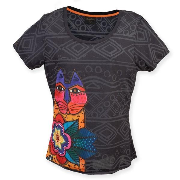 Laurel Burch Women's Shirt, Mara, XX-Large