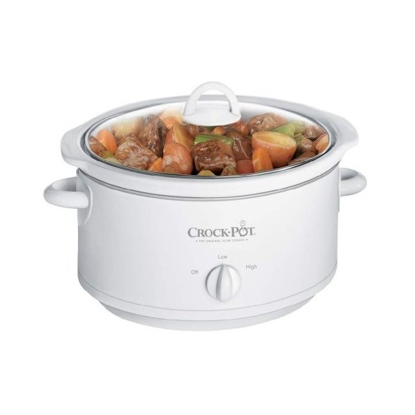 Crock-Pot 3735-WN 3-1/2クォート スロークッカー ホワイト|twilight-shop
