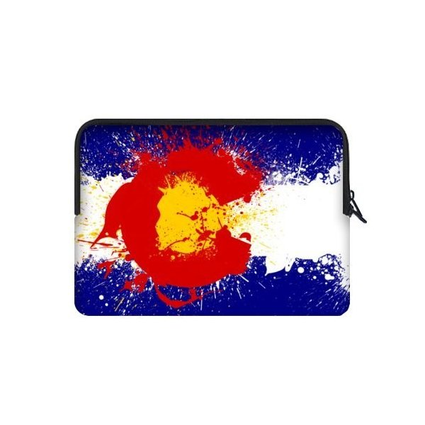 キュートコロラド州旗画像ノートブックラップトップスリーブケース( Two Sides )???MacBook、Macbook Air / Pro 15|twilight-shop
