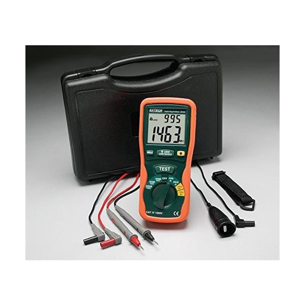 Extech Instruments Megohmmeter with Nist
