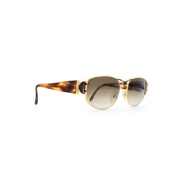 Maga Design 3065 T Gold Brown Square Womens Cetified Vintage Sunglasses